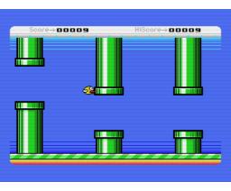Flappy Bird for MSX (2014, MSX, Crunchworks)