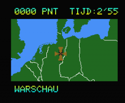 Topografie Europa (1986, MSX2, Radarsoft)