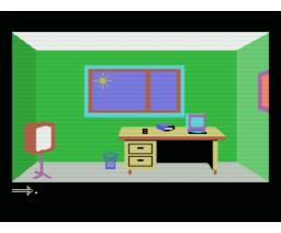 Interieurs (1985, MSX, Eric von Ascheberg)