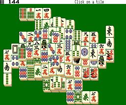 Shanghai II (1989, MSX2, System Soft)