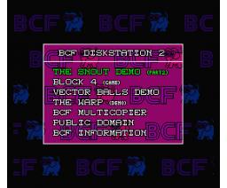 BCF Disk Station #2 (1990, MSX2, MSX2+, BCF)