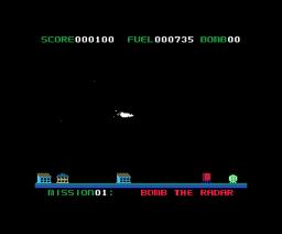 Star Blazer (1982, MSX, Starcraft)