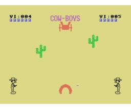 Cow-Boys (1987, MSX, A.G.D.)
