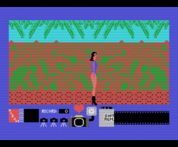 Lady Safari (1988, MSX, OMK Software)