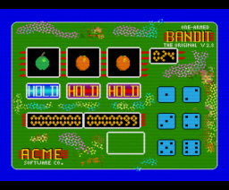 Bandit (1990, MSX2, ACME Software Company)