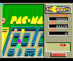 Pac-Mania (1989, MSX2, MSX2+, NAMCO)