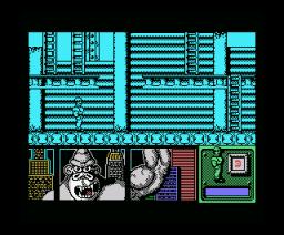 Kong's Revenge (1991, MSX, Zigurat)