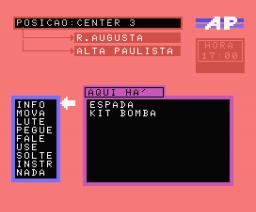 Avenida Paulista (1986, MSX, Sysout)