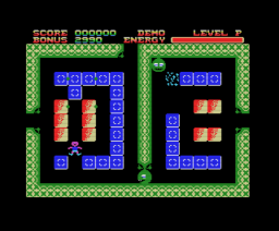 Buster Block (1985, MSX, Kuma Computers)