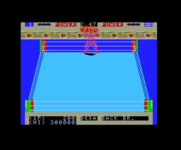 Robo Wres 2001 (1987, MSX, Micronet)