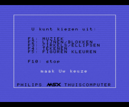 6 in één (1986, MSX, Philips)