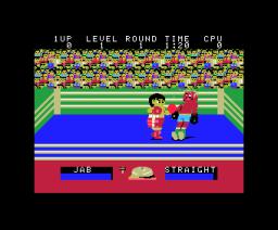 Champion Boxing (1985, MSX, Sega)