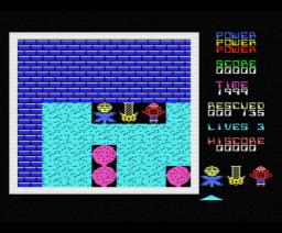 Survivors (1986, MSX, Atlantis Software)