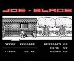 Joe Blade (1989, MSX, Players)