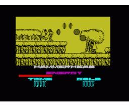 Hammer-Head (1992, MSX, Zigurat)