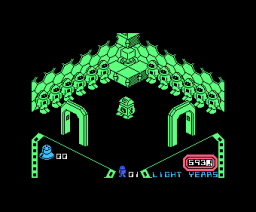 Alien 8 (1987, MSX, Ultimate Play The Game)