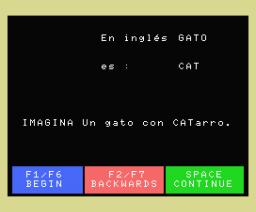 Curso de Ingles (1984, MSX, Plusdata)