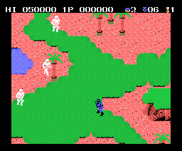 Wolf of the Battlefield: Commando (1987, MSX, Capcom)