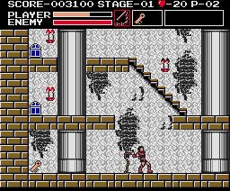 Vampire Killer (1986, MSX2, Konami)