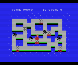 Ostrich (1985, MSX, Colpax)