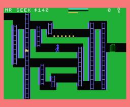 Mr Seek Kaivosseikkailu (MSX, Teknopiste)