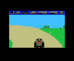 Coaster Race (1986, MSX, Sony)
