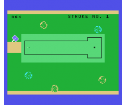Mini-Golf (1984, MSX, James Ralph)