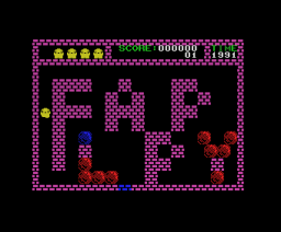 Flappy (1984, MSX, dB-SOFT)