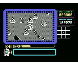 Martianoids (1987, MSX, A.C.G.)