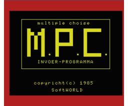 Teach MSX (1985, MSX, SoftWorld)