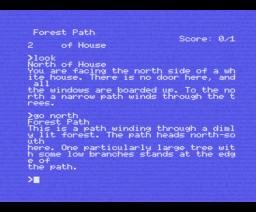 Zork I: The Great Underground Empire (1982, MSX, Infocom)