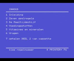 Dieet (1986, MSX, RVU)