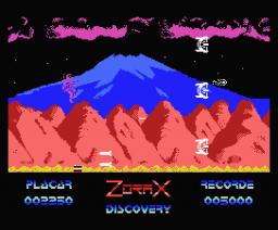 Zorax (1990, MSX, Discovery Informática)