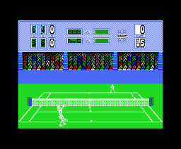 Passing Shot (1988, MSX, Image Works)