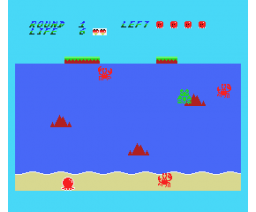 Beach Story of Tako - Part I (1987, MSX, Komeya)
