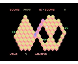 Q'Bert (1985, MSX, Pirasoft)