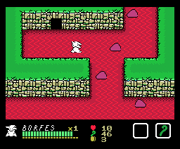 Borfesu and Five Evil Spirits (1987, MSX, XtalSoft)
