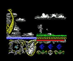 Hundra (1988, MSX, Dinamic)