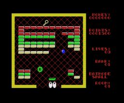 Breaker Breaker (1988, MSX, Eurosoft)