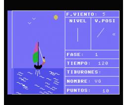 Cazador de tiburones (1985, MSX, Monser)