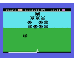 Alien Attack (1986, MSX, L. Dorsman)