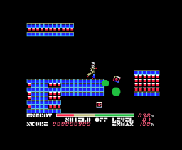 Thexder (1986, MSX, Compile, Game Arts)