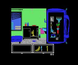 L'Héritage - Panique à Las Vegas (1986, MSX, Infogrames)