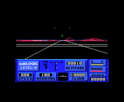 Flight Simulator with Torpedo Attack (1988, MSX, subLOGIC)