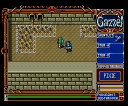 Xak Precious Package: The Tower of Gazzel (1991, MSX2, MSX2+, Turbo-R, Microcabin)