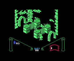 Knight Lore (1986, MSX, Ultimate Play The Game)
