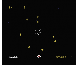Gyruss (1984, MSX, Parker Brothers)