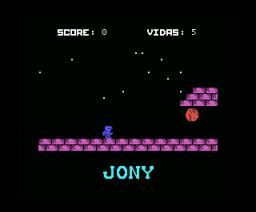 Jony y el Trono del Jaguar (1986, MSX, A.G.D.)