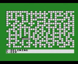 Kruiswoord (1986, MSX2, Radarsoft)