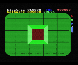 The Wreck (1984, MSX, Electric Software)